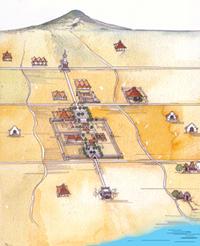 peta konsep Jogja